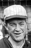 Grover Alexander, as a Cardinal, in 1928 World Series (AP).<br />